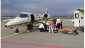 MEDICAL EMERGENCY AIR EVACUATION